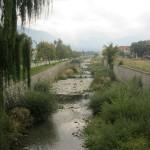 Река Глазне, Банско